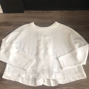 IRO Size 42 White Blouse Tie Back